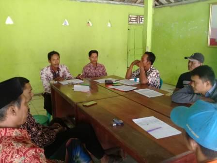 Panitia Pilkades Ngasinan Gelar Rakor Pemutakhiran Data Pemilih Pilkades 2019